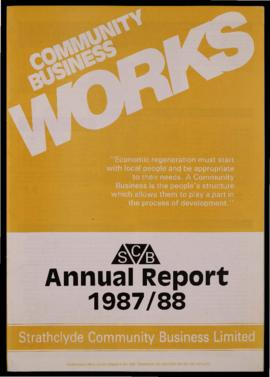 SCB annual report 1987/88