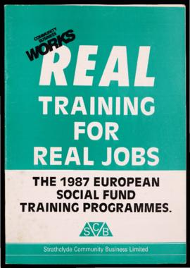 'Real training for real jobs – the 1987 European Social Fund training programmes'