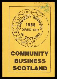 'Community business 1986 directory'