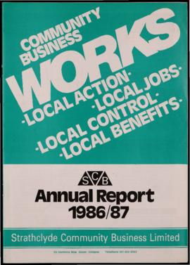 SCB annual report 1986/87